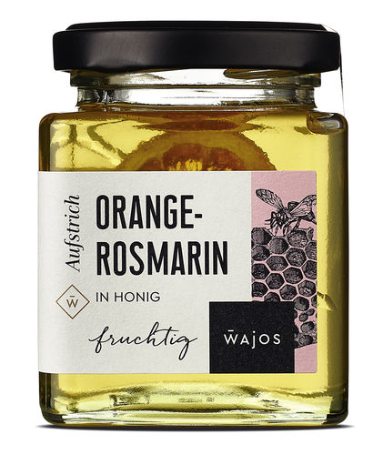 ORANGE-ROSMARIN - IN HONIG 250g