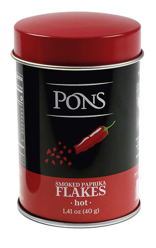 PAPRIKA FLAKES HOT SMOKED